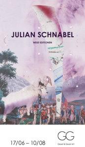 Einladungskarte zu Julian Schnabel