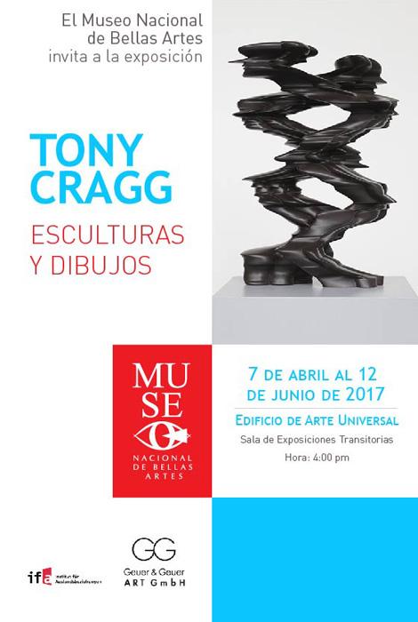 Tony Cragg Flyer Kuba