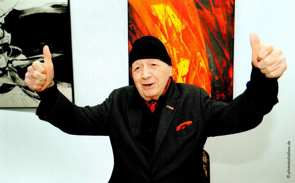 Karl Otto Götz, 100 Jahre geschafft