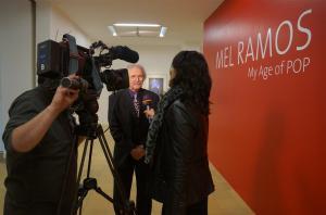Mel Ramos im Interview mit SWR