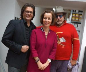 Dirk Geuer, Prof. Dr. Beate Reifenscheid und Julian Schnabel