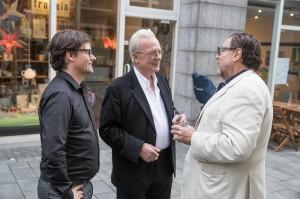 Dirk Geuer, Imi Knoebel und Julian Schnabel