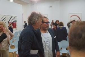 Wolfgang Niedecken und Julian Schnabel