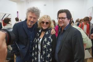 Wolfram Niedecken mit seiner Frau Tina und Dirk Geuer