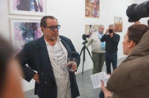 Pressekonferenz - Interview mit dem WDR