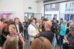 Eröffnung - Interview mit RTL