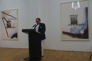 Ansprache von Julian Schnabel