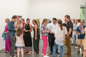 Erró Ausstellungseröffnung in der Galerie Geuer & Geuer Art - Impression - Copyright Uli Engers