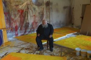 Im Bildermeer - Hermann Nitsch in seinem Atelier