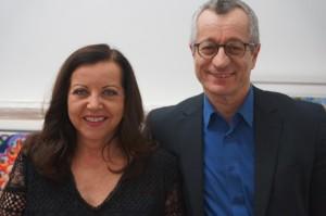 Rita Nitsch mit Dr. Tayfun Belgin