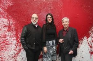 Lyriker Frank Schablewski mit Yvonne Geuer und Schriftsteller Dr. Wolfgang Cziesla
