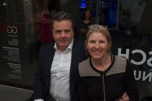 Peer Draheim und Biljana Rakic