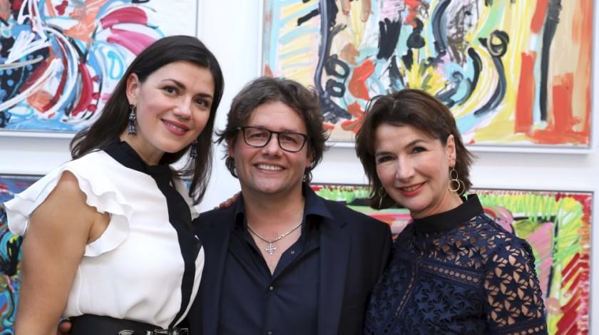 13 Yvonne und Dirk Geuer mit Ute Achenbach