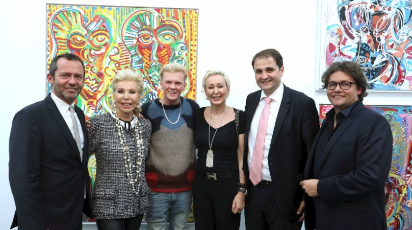 9 Eric Falt, Ute-Henriette Ohoven, Leon Löwentraut, Claudia Jerger, Nathanael Liminski, Dirk Geuer