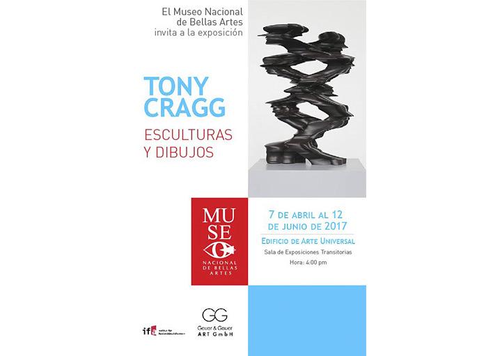 Austellung in Cuba von Tony Cragg